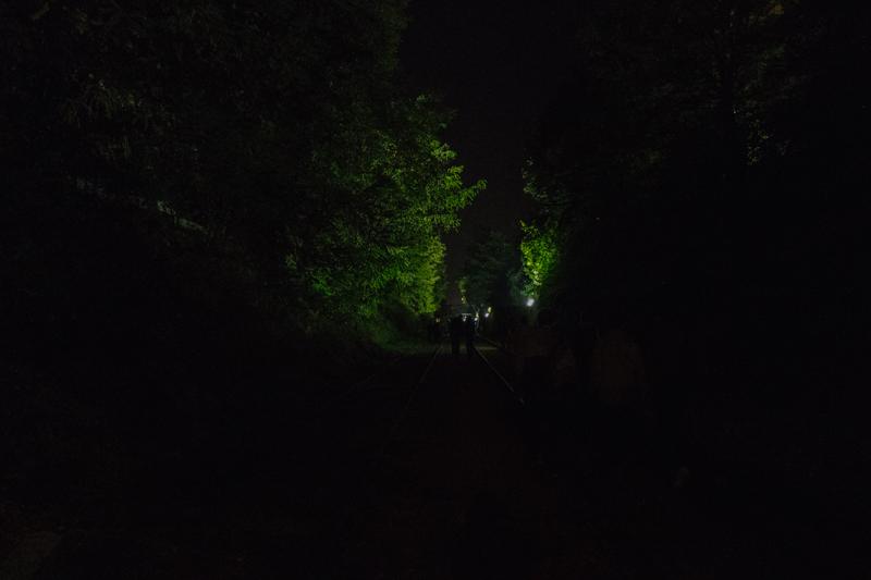 Nuit blanche à Paris sur la petite ceinture