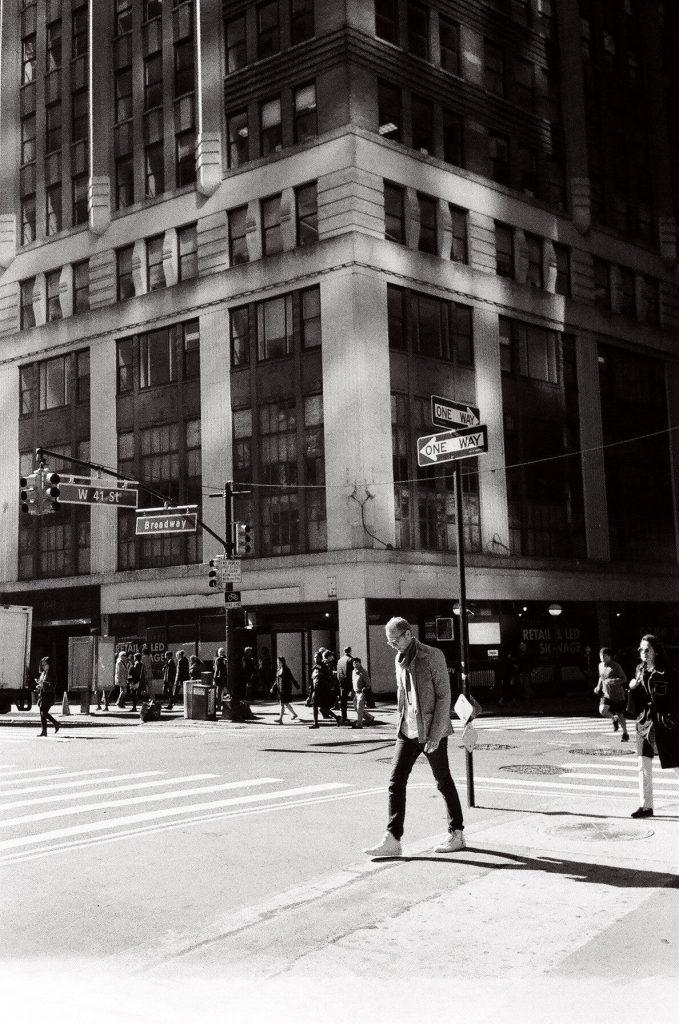 NYC argentique mju II olympus