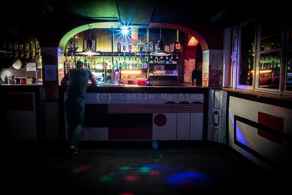 Bar de la boîte de nuit La Java